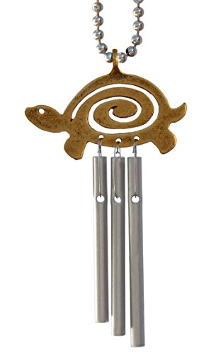 Car Musical Wind Chimes Turtle Spiral – Made in USA