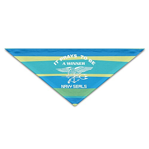 US Navy SEALs It Pays To Be A Winner Pet Scarf Cat Bandanas Love Your Baby - Clothing Frogman