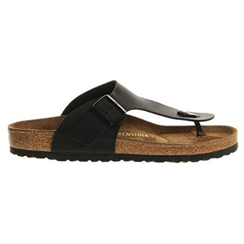 f58ca528f06a Galleon - Birkenstock Ramses Birko-Flor Style-No. 44791 Unisex Thong Sandals  Black -45 Eu