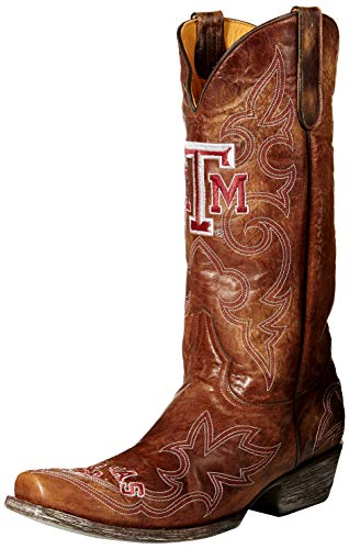 - GAMEDAY BOOTS NCAA Texas A&M Aggies Men's, Brass, 10.5 D (M) US