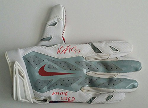ca33206c674 Dwayne Harris Autographed Signed Game Used Nike Glove New York Giants - JSA  Certified - NFL Game Used Gloves