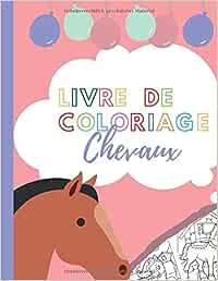 livre de coloriage chevaux: 15 chevaux à colorier et à découper I Livret de coloriage pour enfants garçons et filles