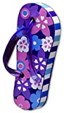 Tenna Tops Car Antenna Topper Antenna Ball Mirror Dangler (Flip Flop Purple)