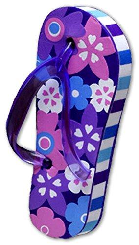 Tenna Tops Purple Flip Flop Sandal Car Antenna Topper / Antenna Ball / Mirror Dangler