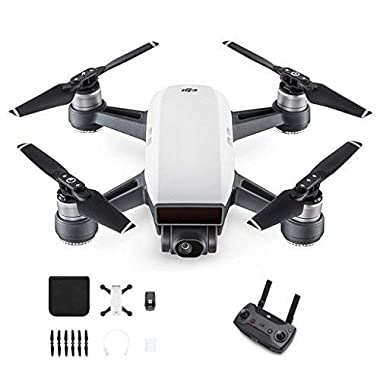DJI Spark With Remote Control Combo (White) (Renewed)