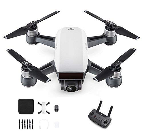 DJI Spark With Remote Control Combo (White) (Certified Refurbished)