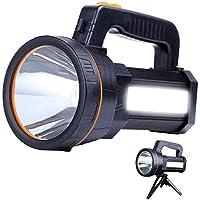 AF-WAN super jasna latarka LED do wielokrotnego ładowania przenośna ręczna lampa szperkowa potężna latarka punktowa 9000…