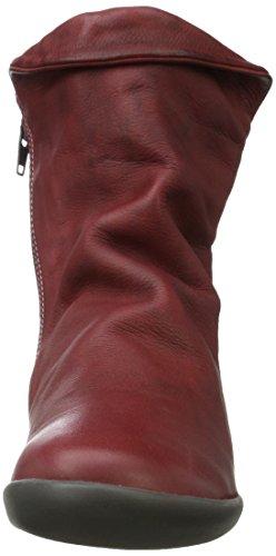 Softinos Nat332sof Washed - Botines Mujer Rojo (Scarlet)
