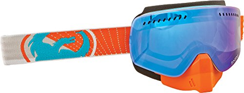Dragon Alliance Unisex Vert NFXS Snowmobile Goggles Eyewear, Blue Steel, One Size by Dragon Alliance