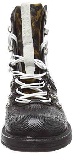 Multicolour Women's S Boots 0001 98 senape A 201 Biker Gib Nero EqwYpUxT