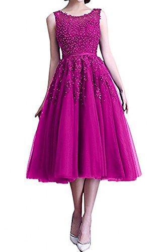 Spitze Dunkel Wadenlang Pink Ausschnitt Braut FBA Promkleider U Gruen Rock Abendkleider Marie A Pailletten La Partykleider Linie BwgYqq
