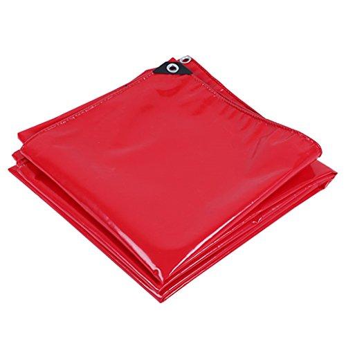 Plane Persenning rot Plane Waterproof Abdeckung Ground Sheets Heavy-Duty-UV-Besteändig, Anti-Korrosion, Dicke 0,45 mm, Multi-Größe-Optionen Abdeckplanen (größe   3MX2M)
