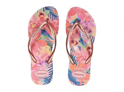 Havaianas Slim Tropical Sandales Ballet Rose Havaianas Sandales /& Beach Shoes