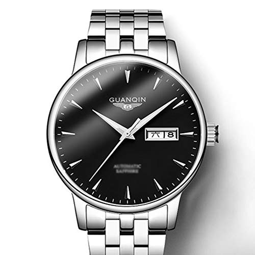- Design Stainless Steel Automatic Mens Watch with Analog Waterproof Manipulator Table for Men