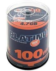 Platinum DVD-R 4,7 GB dvd-wonden 100er Spindel