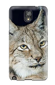 Cute Appearance Cover/tpu OUmdYNz8529TsCbD Lynx Pictures Case For Galaxy Note 3