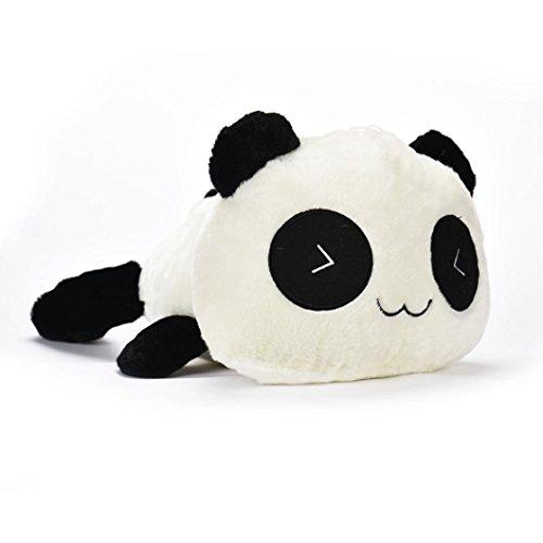 Besde Cute Plush Doll Toy Stuffed Animal Panda Pillow Quality Bolster Gift (D, ()
