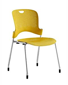 Herman Miller WC410N Caper Stacking Chair With No Arms Kitchen