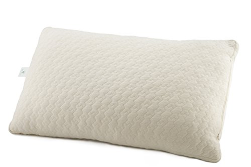 Organic Certified Cover Cotton (Sleep Artisan - Natural Latex and Kapok Queen Pillow for Sleeping, with GOTS Certified Organic Cotton Cover - Adjustable Loft from Soft to Firm - Prevents Neck Pain and Sleep Cool - Made in USA)
