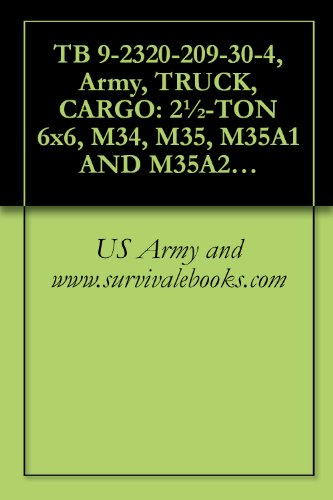TB 9-2320-209-30-4, Army, TRUCK, CARGO: 2½-TON 6x6, for sale  Delivered anywhere in USA