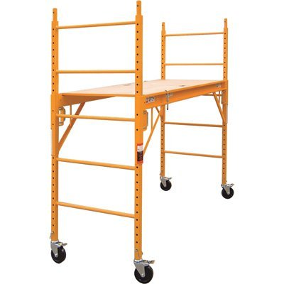 Metaltech Multipurpose 6'. Baker-Style Scaffold - 1, 000-Lb. Capacity, steel, model# I-CISC