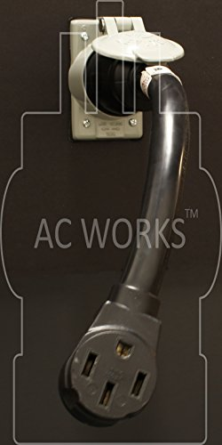 AC WORKS Electric Vehicle Charging Adapter for Tesla Use (50A Locking to Tesla) by AC WORKS (Image #4)