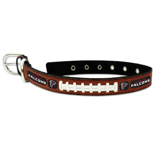 NFL Atlanta Falcons Classic Leather Football Collar, - Shops Outlet Atlanta