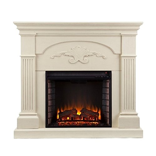 Southern Enterprises Sicilian Harvest Ivory Electric Firepla