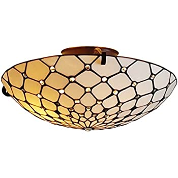 Elk 700272 Tiffany 2Light Flush Mount 4Inch Oiled Bronze With