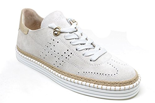 Sneakers Damen HXW2600K850I0P0QBC Weiss Hogan Leder AnzPqHqZ