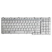 wangpeng® New US white keyboard for Toshiba Satellite L500 L500D