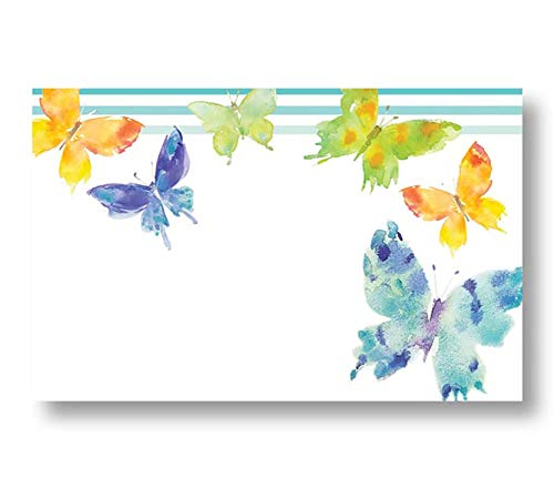 burton+BURTON Woodland Butterflies Spring Enclosure Cards, Place Cards