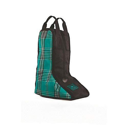 Kensington All Around Western Boot Bag - Nylon Inside Divider to Keep Boots Separate - Nylon Lining With Textilene Sides for Breathability