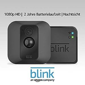 Blink XT System für Videoüberwachung, mit Bewegungserkennung, Befestigungsset, HD-Video, 2?Jahre Batterielaufzeit, inkl. Cloud-Speicherdienst, Ein-Kamera-System