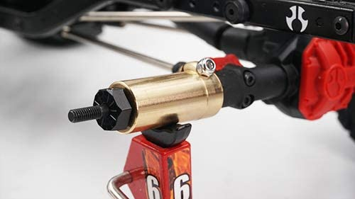 Yeah Racing AXSC-006 Brass Diff Cover Axial SCX10 II