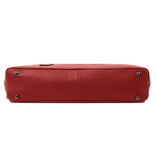 rosso Rosso Donna Morbida Borsa Lucca Pelle In Tl Tl141630 Smart Leather Business Tuscany Per Oa1w71