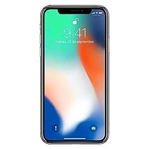 """Apple iPhone X Tarjeta SIM sencilla 4G 64GB Plata - Smartphone (14.7 cm (5.8""""), 64 GB, 12 MP, iOS, 11, Plata)"""