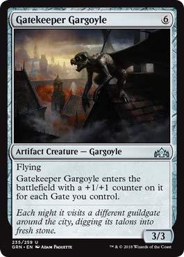 - Magic: The Gathering - Gatekeeper Gargoyle - Foil - Guilds of Ravnica - Uncommon