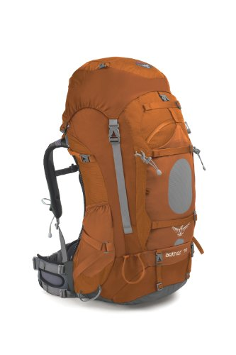 Osprey Aether 70-Litre Backpack (Magma Orange, X-Large), Outdoor Stuffs