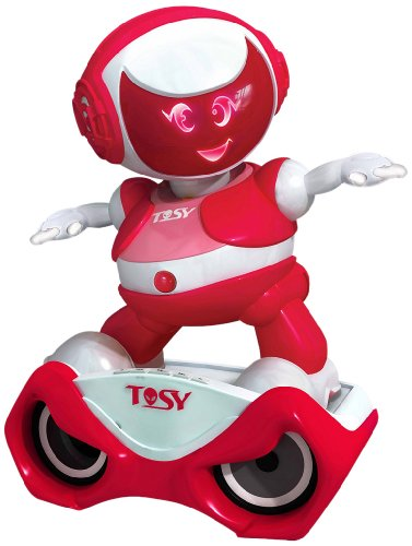 Tosy DiscoRobo with Speaker (Pink) by Tosy
