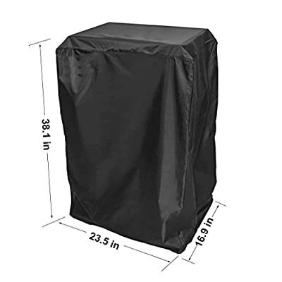 Onlyfire Durable 40-Inch Electric Smoker Cover, Black by onlyfire