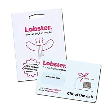 Lobster Tarjeta SIM prepago Llamadas y SMS ilimitados ...