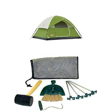 Coleman Sundome 4-Person Tent and Coleman Tent Kit  sc 1 st  Amazon.com & Amazon.com : Coleman Sundome 4-Person Tent and Coleman Tent Kit ...