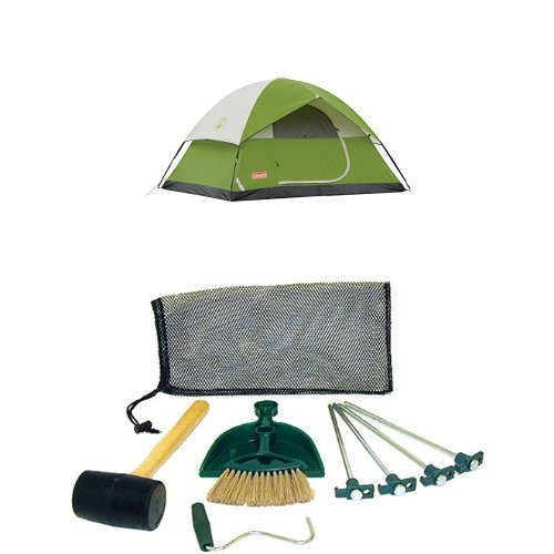 Coleman Sundome 4-Person Tent and Coleman Tent Kit