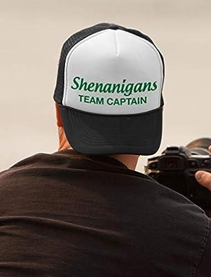 Tstars - Funny Shenanigans Team Captain St. Patrick Trucker Hat Mesh Cap
