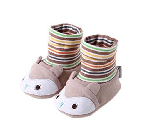 2PCS nette Krippe Schuhe Cotton Schuhe Kleinkinder Schuhe Bequeme Schuhe für Neugeborene