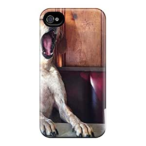 Special Anglams Skin Case Cover For Iphone 4/4s, Popular Good Morning Maaaaaaaan Phone Case