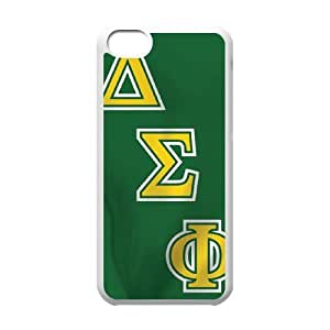 Delta Sigma Phi Flag iPhone 5c Cell Phone Case White Delicate gift AVS_561253