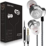 DEIVVOX Wired Earbuds with Microphone and Volume Control - in Ear Headphones Wired Ear Buds - Earphones with Microphone Mic Extra Bass - Compatible with Apple iPhone Ipad Samsung Galaxy Sony 3.5mm