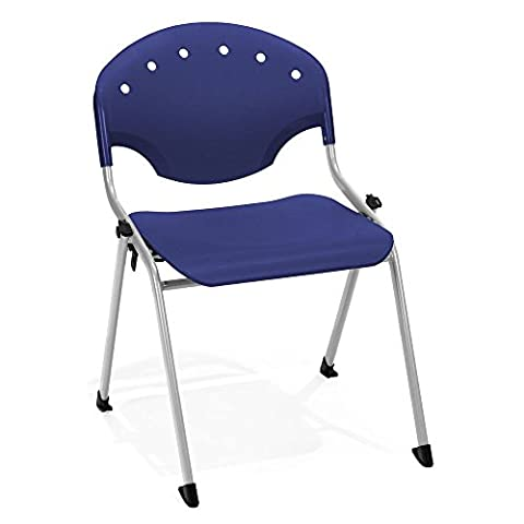 Armless Stack Chair Dimensions: 22.25